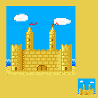 Castle of Sand by Kyatric
