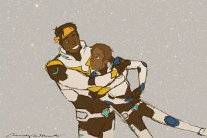 Hunk the Surprise Hug-er by LittleWheat