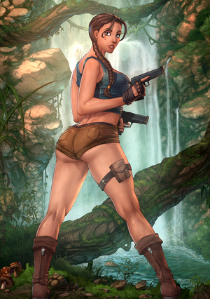Lara Croft Tomb Raider by vest