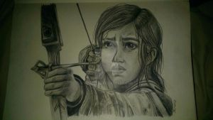 Ellie- The Last Of Us by Wuzzle98