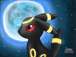 Umbreon Fanart by 29steph5