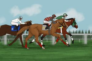 Winchester : Prince of Wales Stakes by MistyofSunrise