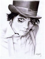 Gerard Way by OurLady-OfSorrows