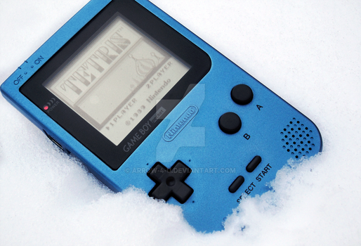 Game Boy Pocket Ice Blue Edition photo 1# by ArRoW-4-U