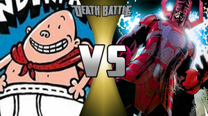Death Battle: Captain Underpants vs Galactus by lightyearpig