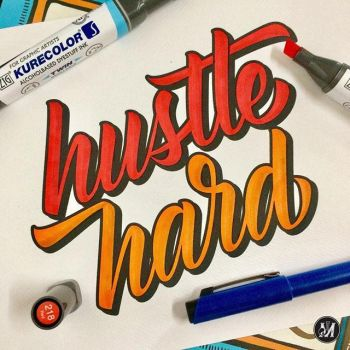 Hustle Harder by johnmisael