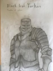 Black Iron Tarkus - Dark Souls by NicksterDagames
