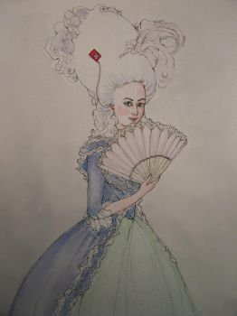marie antoinette's ipod by PhinnyMinny