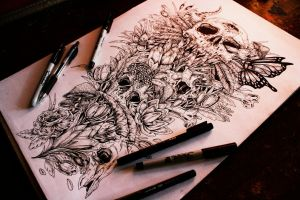 Even more tattoo designs (sleeve No.1) by EG-TheFreak