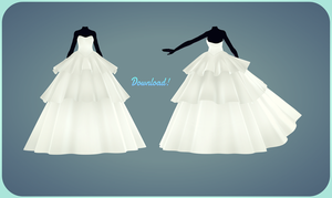 [MMD] Better Dress update (Six Layer now on 3) by AyaneFoxey