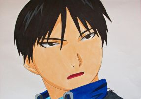 The Flame Alchemist - Roy Mustang by SakakiTheMastermind