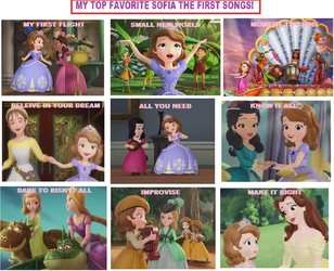 MY TOP FAVORITE SOFIA SONGS! by TheKalosQueenSerena