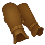 Leather Leg Guards by Ulfrheim