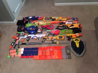 Nerf Armory 2015 by Darkswag