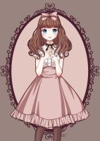 Classic Lolita Choco (Thank you for 200 watchers) by Kisuuu3
