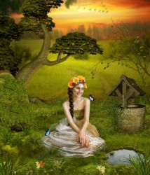Spring child by theancientsoul