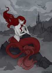 The Little Mermaid by IrenHorrors