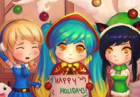 LoL - Last Minute Season's Greetings by cubehero