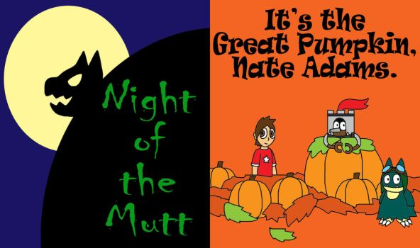 Coming Soon: Halloween special comics by Art-of-Gameland