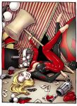 Harley Loves Laughing Gas by savagesparrow