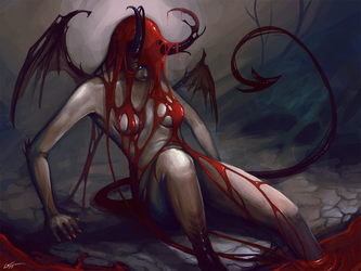 Birth of a Succubus by Lanasy