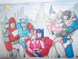 Favorite Transformers Couples by Jovianwolfgirl