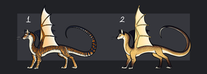 Cute Dragon Auction [2/2][OPEN] by TheAdoptArtist