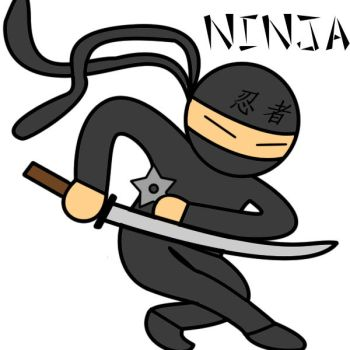 Awesome Ninja by mrpajamasharkman