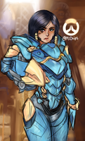 [Overwatch] Pharah by camynart