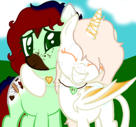 Storybook Charm And Snow Peach by theliondemon-kaimra
