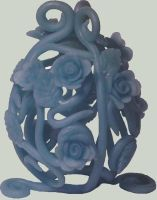 Blue Rose Egg by Ranasp