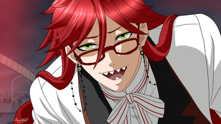 .:.Grell.:. by Wolven-Sorceress