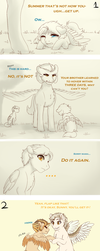 MLP - Thinking of You (Art Dump) by MiaMaha
