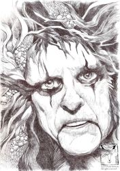 The Eyes Of Alice Cooper by dragonladych