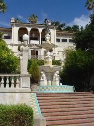 Hearst Castle Steps 1 by StockWolfwood