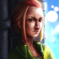(OC) Fallon Deep Portrait by Glamra