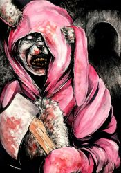 Bunny Man by ApocalypticPorcelain