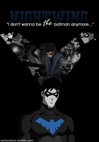 Nightwing by mooseandbri