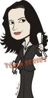 Prentiss - Criminal Minds by toonseries