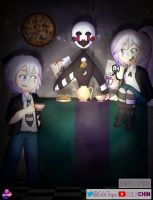 Puppet #FNAFxHS by CeleCHIN