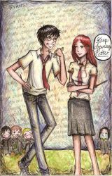 Evans is Just the Girl... by commoner-pocky