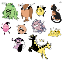 Pokemon Gold ~ unused friends!