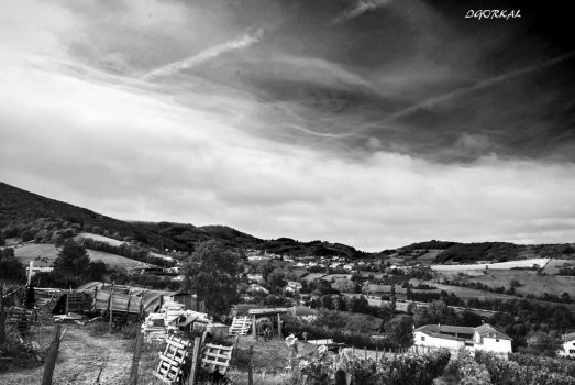 Hills And Villages by IgorKal