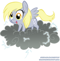 Chibi Derpy by StePandy