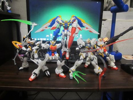 Gundam Wing EW Mobile Suits (Katoki Ver.) by TakumiNakayama