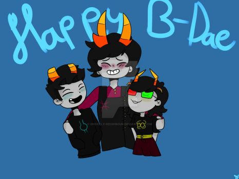 |Trollsonas| Happy B-Dae by Fliesel