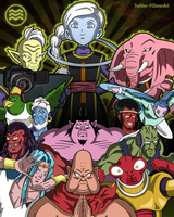 Tribute to Universe 10 by DFJonesArt
