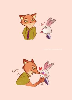 Nick x Judy | Zootopia | Boo by garing-ging