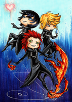 KH: Days Trio by owopyre