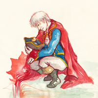 [Prize] Pirate!Prussia by DarkGreyHeroine